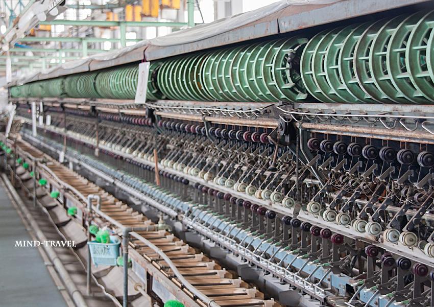 富岡製糸場 自動繰糸機