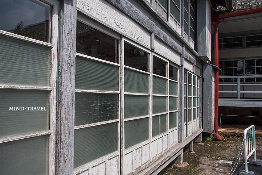 富岡製紙場 宿舎の掃き出し窓