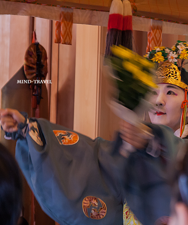 車折神社 重陽祭 舞人