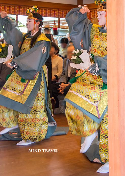 車折神社 重陽祭 舞人2