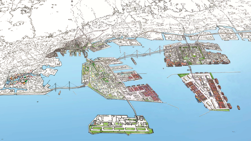 20170519神戸港の将来像全景