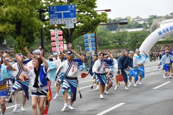 神戸楠公連 2017姫路お城まつり