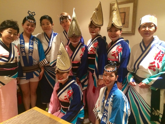 神戸楠公連 2017.05 結婚披露宴阿波踊り