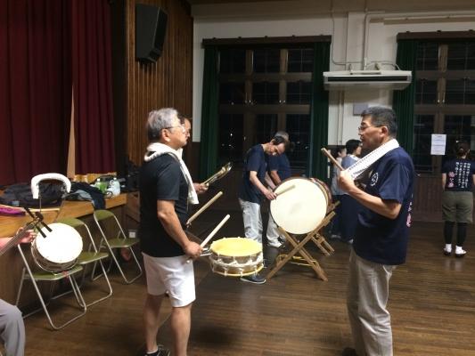 神戸楠公連 2017阿波踊り教室
