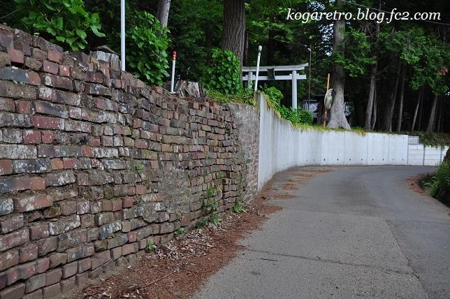 野木のレンガ道2