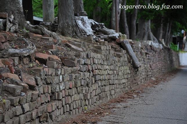 野木のレンガ道3
