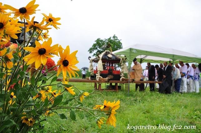 2017谷中村で神輿