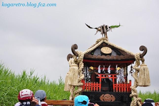 2017谷中村で神輿2
