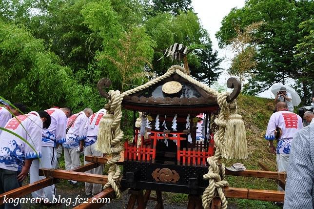 2017谷中村で神輿3