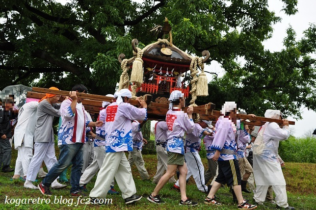 2017谷中村で神輿5