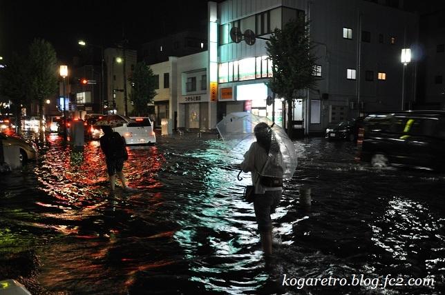 7月5日古河市の大雨