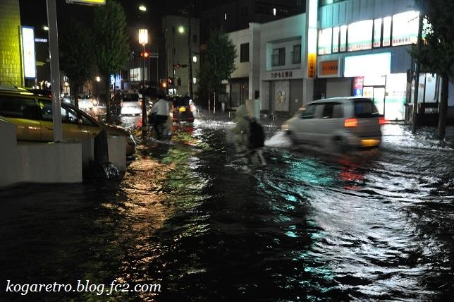 7月5日古河市の大雨2