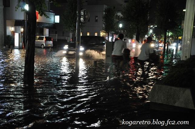 7月5日古河市の大雨3