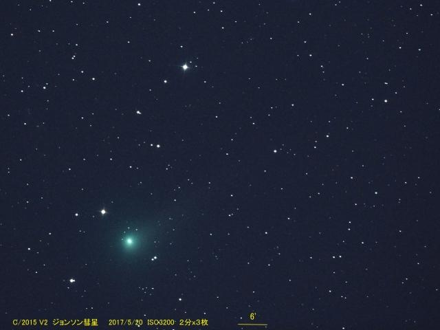 C2015V2_ジョンソン彗星_20170520G_727729x3