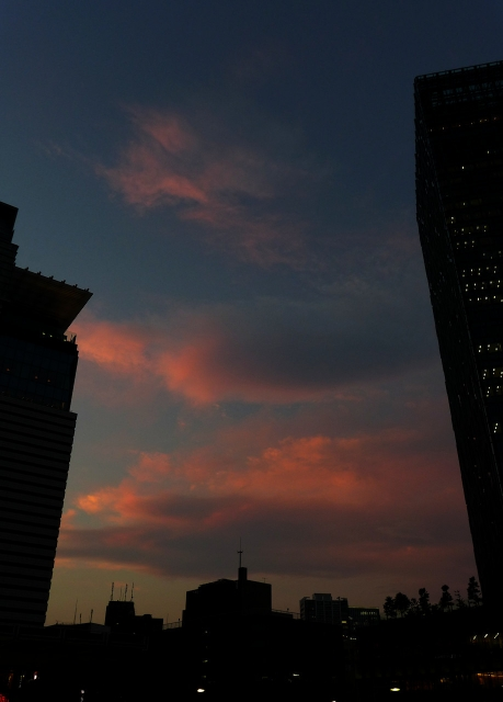 B20170713P_名古屋の夕焼け_P1150741