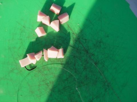1本バリソーセージ数珠繋ぎ