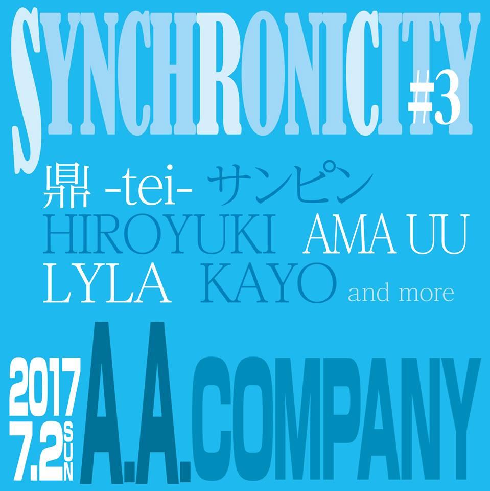 2017/7/2@立川A .A.company synchronicity #3 鼎-tei-