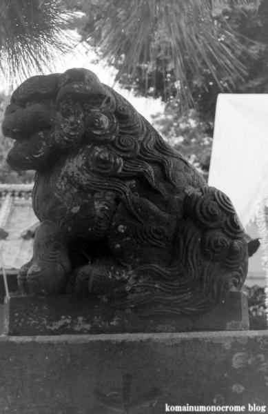 八幡神社(足立区六月)1
