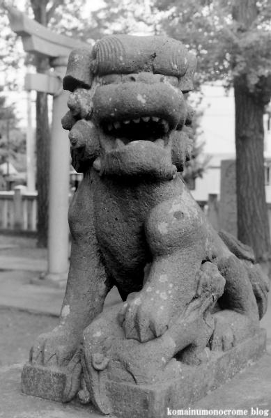 栗原氷川神社(足立区栗原)2