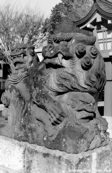 氷川神社(上尾市原市)4
