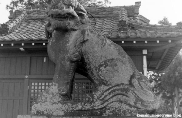 女体神社(春日部市梅田)1