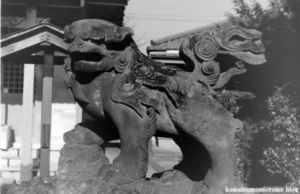 神明社(春日部市梅田本町)1