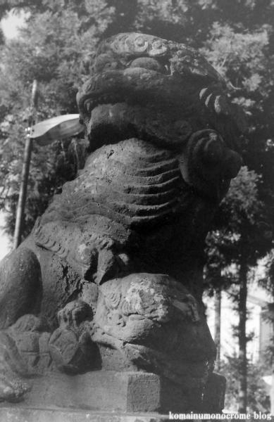 元新宿八幡神社(春日部市南)4