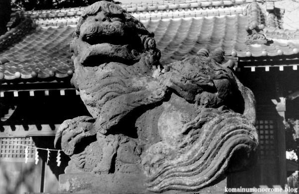 元新宿八幡神社(春日部市南)1