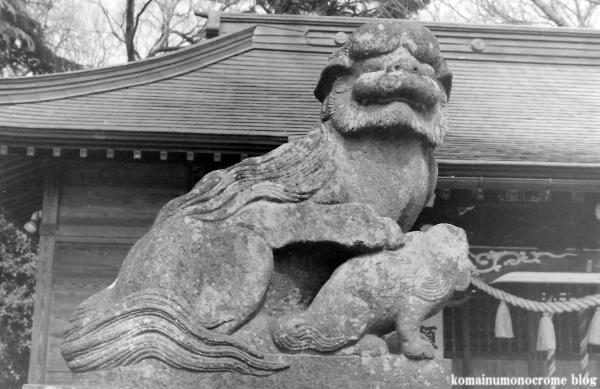 東八幡神社(春日部市粕壁東)3