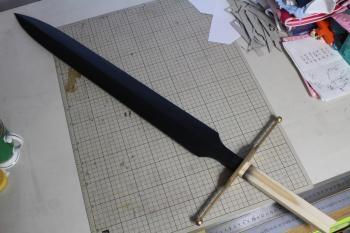 N様 ドラゴンクエストⅥ 雷鳴の剣(非金属製) 鍔と刀身1