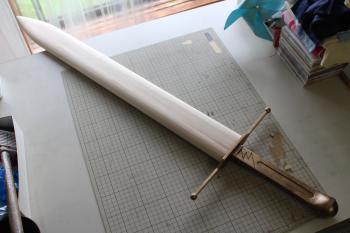 N様 ドラゴンクエストⅥ 雷鳴の剣(非金属製)完成と鞘1