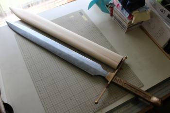 N様 ドラゴンクエストⅥ 雷鳴の剣(非金属製)完成と鞘3