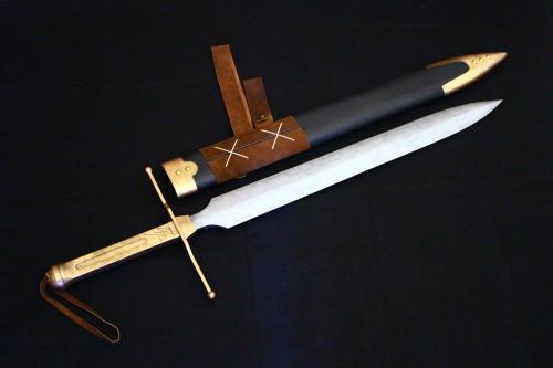 N様 ドラゴンクエストⅥ 雷鳴の剣(非金属製)完成!剣と鞘1