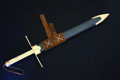 N様 ドラゴンクエストⅥ 雷鳴の剣(非金属製)完成!剣と鞘2