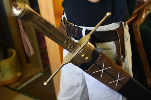 N様 ドラゴンクエストⅥ 雷鳴の剣(非金属製)鞘装着イメージ1