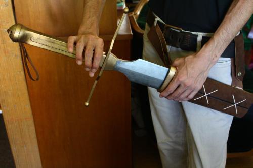 N様 ドラゴンクエストⅥ 雷鳴の剣(非金属製)鞘装着イメージ3