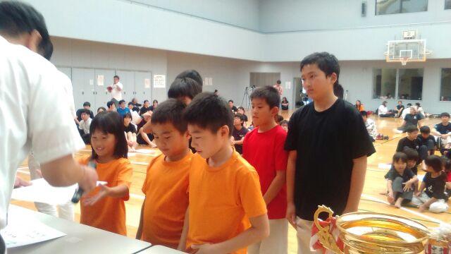 小学生団体表彰