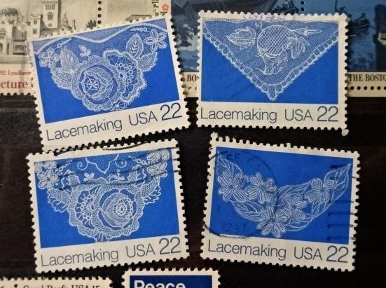 アメリカレース切手