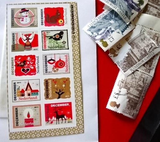 オランダクリスマス切手