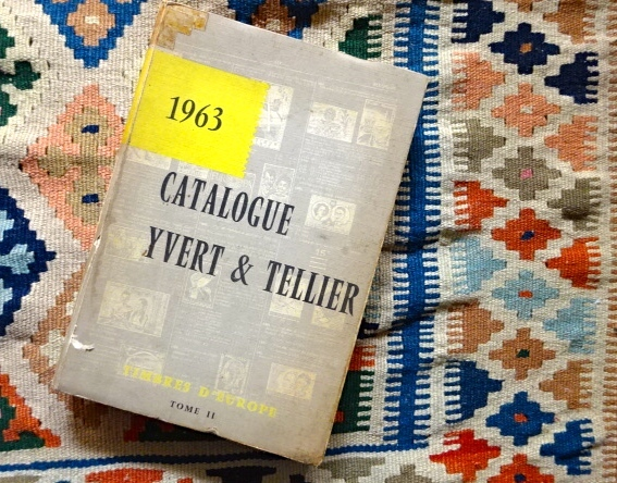 yvert tellierカタログ1