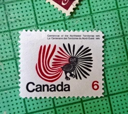 カナダ変鳥切手