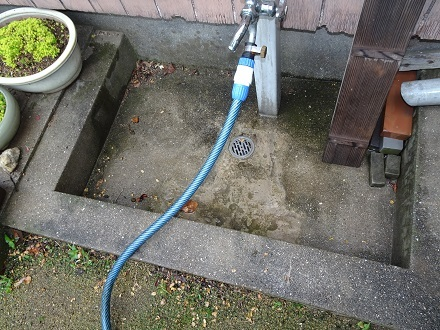 屋外の水道1