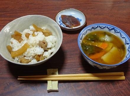 20161225姫大根の炊き込みご飯