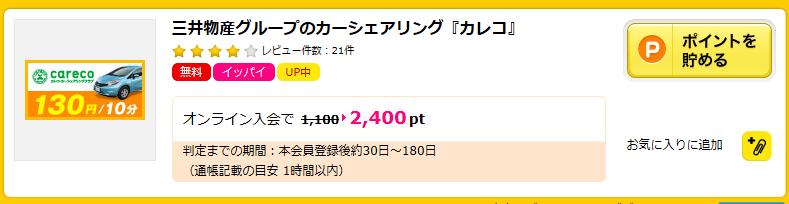 三井物産グループのカーシェアリング『カレコ』