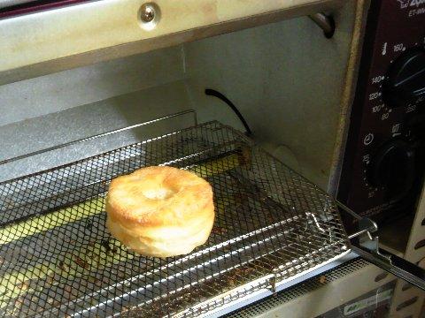 トースターで焼く