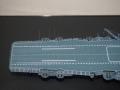 サラトガ艦首飛行甲板