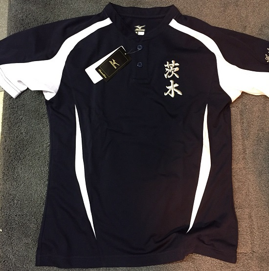 茨木高校野球部tシャツ29年0602