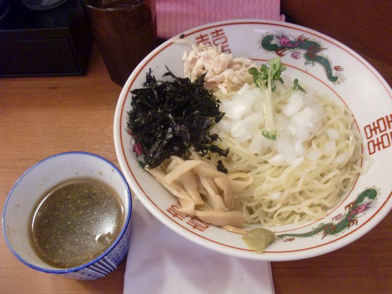 灯花紅猿@四谷三丁目・20170903・冷やし麺