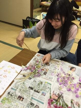 お花ワーク 5
