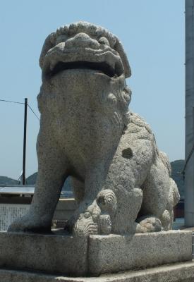 亀山八幡宮04狛b